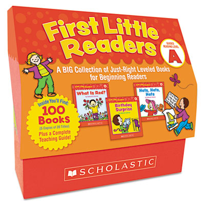 First Little Readers Level A, 100 books, teaching guide, PreK-2