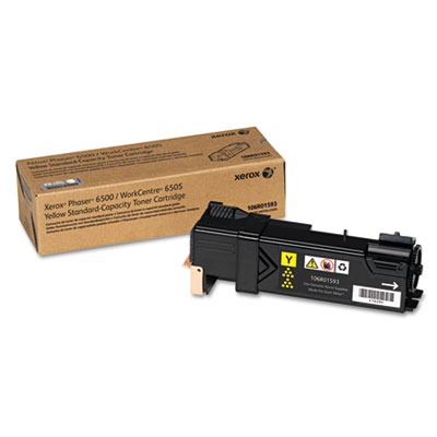 106R01593 Toner, 1,000 Page-Yield, Yellow