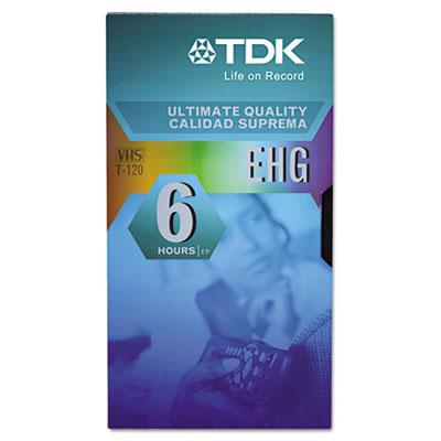 High Grade VHS Videotape Cassette, 6 Hours