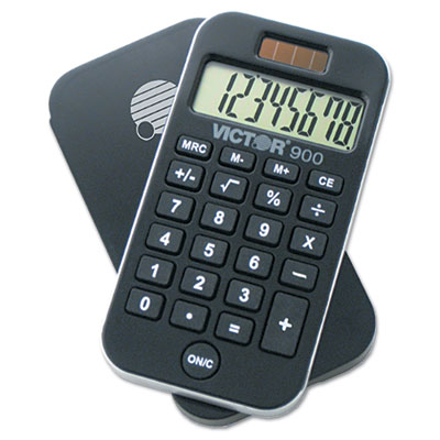 900 Antimicrobial Pocket Calculator, 8-Digit LCD<br />91-VCT-900