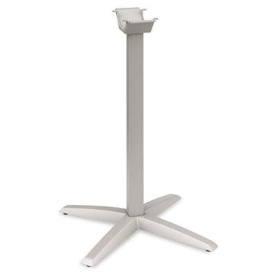 Aluminum Standing-Height X-Leg Base, 26-3/4w x 26-3/4d x 40-7/8h