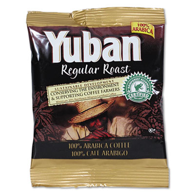 Regular Roast Coffee, 1.5oz Packs, 42/Carton