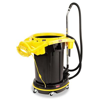 DVAC Straight Suction Vacuum Cleaner, 8 A, 41lb, Black