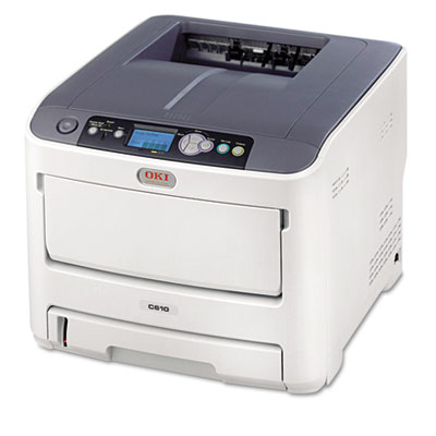 C610dn Laser Printer, Network-Ready, Duplex Printing
