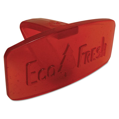 Eco Fresh Bowl Clip, Spiced Apple Scent, Red, 12/Box