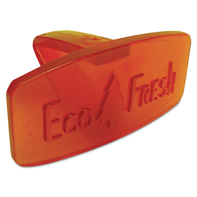 Eco Fresh Bowl Clip, Mango Scent, Orange, 12/Box