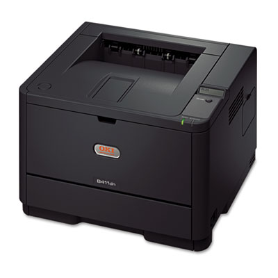 B411dn Laser Printer, Duplex Printing, Black