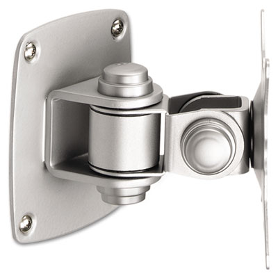 Low Profile Wall Mount for Flat Panel Monitor, Silver