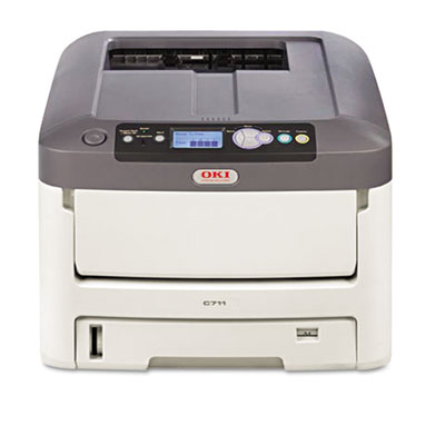 C711n Laser Printer, Network-Ready