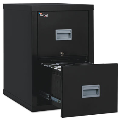 Patriot Insulated Two-Drawer Fire File, 17-3/4w x 25d x 27-3/4h,