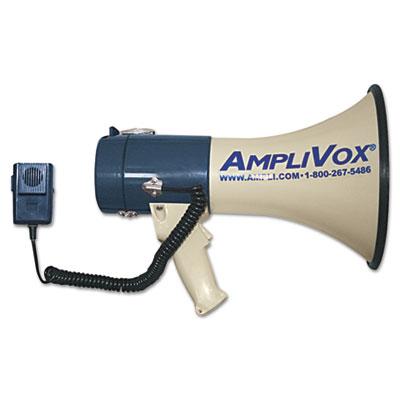 MityMeg Piezo Dynamic Megaphone w/Detachable Microphone, 25W, 1