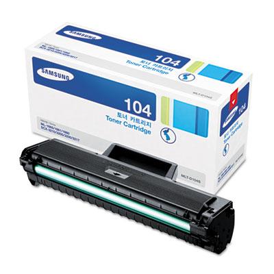MLT-D104S (SU750A) Toner, 1500 Page-Yield, Black<br />91-SAS-SU750A