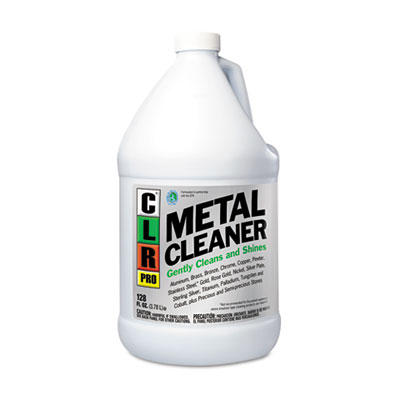 Metal Cleaner, 128oz Bottle, 4/Carton