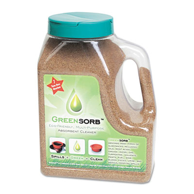 Eco-Friendly Sorbent, Clay, 4lb Shaker Bottle
