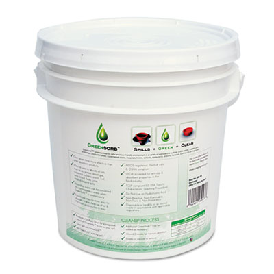 Eco-Friendly Sorbent, 10lb Bucket