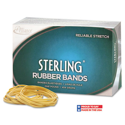 Sterling Ergonomically Correct Rubber Bands, #33, 3-1/2 x 1/8, 8