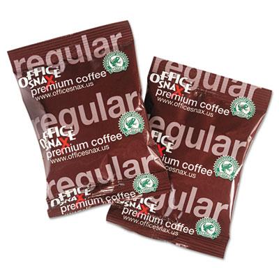 100% Pure Arabica Coffee, Original Blend, 1.5oz Packet, 63/Carto