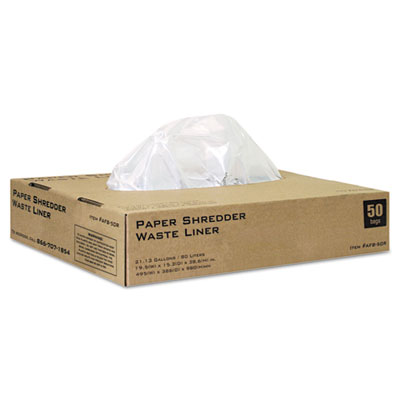 Shredder Bags, 22 gal Capacity