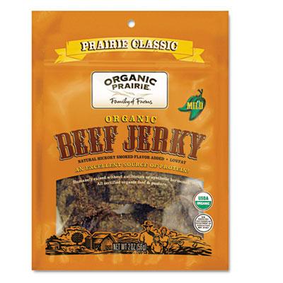Beef Jerky, Prairie Classic Mild, 2oz Bag, 20/Carton