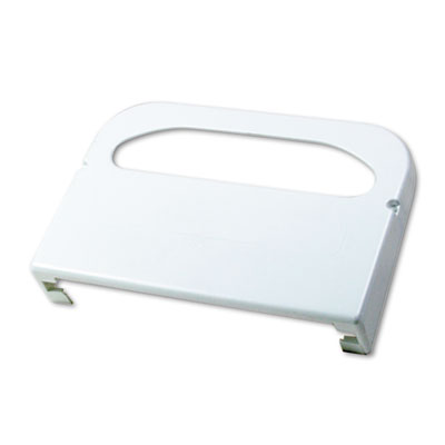 Wall-Mount Toilet Seat Cover Dispenser, Plastic, White