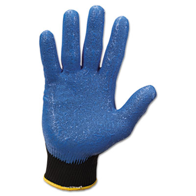 JACKSON SAFETY G40 Nitrile Coated Gloves, Small/Size 7, Blue, 12