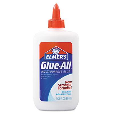 Elmer's Hunt Mfg. E1324 Glue-All White Glue Repositionable 7.625 oz