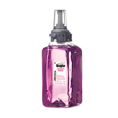 Antibacterial Plum Foam Hand Wash, 1200mL, Plum Scent, Clear Pur