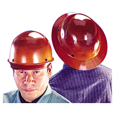 Skullgard Protective Hard Hats, Pin-Lock Suspension, Size 6 1/2