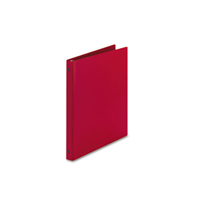 """Avery® Economy Non-View Binder with Round Rings, 11 x 8 1/2, 1/2"""" Capacity, Red"""