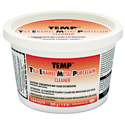 Temp Paste Cleaner & Polish, Lavender Scent, 24oz Tub, 12/Carton