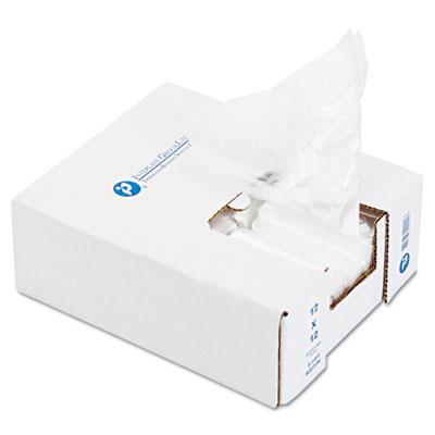Ice Bucket Liner, 6 x 6 x 12, 3qt, .5mil, Clear, 1000/Carton