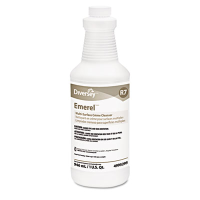 Emerel Multi-Surface Creme Cleanser, Fresh Scent, 32oz Bottle, 1