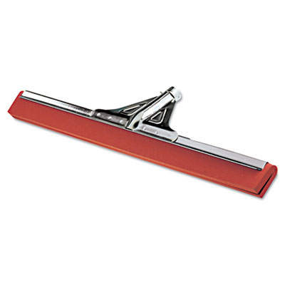 "Heavy-Duty Water Wand, 30"" Wide Blade, Red Neoprene, Tapered Soc"