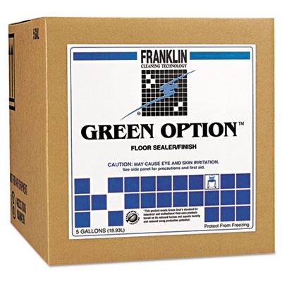 Green Option Floor Sealer/Finish, 5gal Box