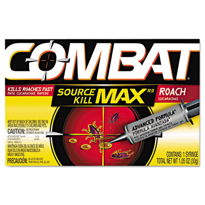 Source Kill Max Roach Killing Gel, 1.058oz Syringe, 12/Carton