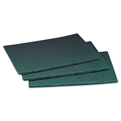Commercial Scouring Pad, 6 x 9, 60/Carton