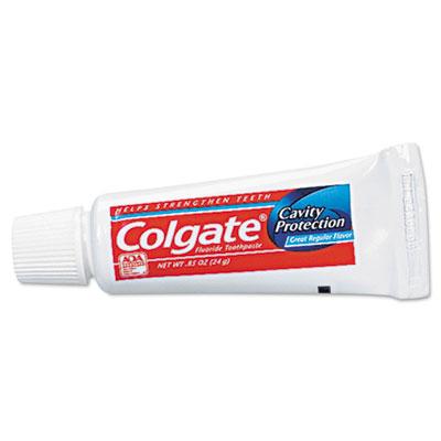 Toothpaste, Personal Size, .85oz Tube, Unboxed, 240/Carton