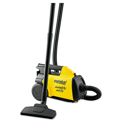 Lightweight Mighty Mite Canister Vacuum, 9A Motor, 8.2 lb, Yello