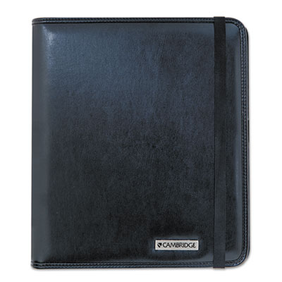 Basic iPad Case, Simulated Leather, 9-1/8 x 1-1/8 x 10-1/2, Blac