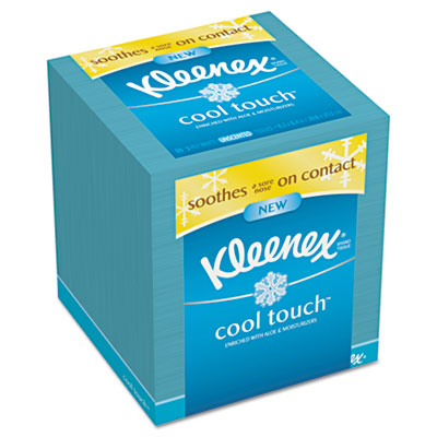 Cool Touch Facial Tissue, 3-Ply, 50 Sheets/Box