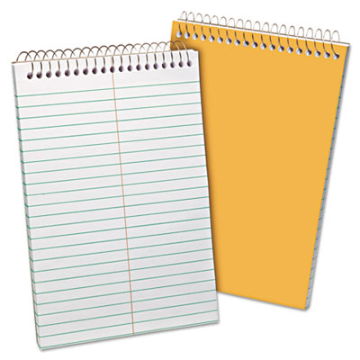 Recycled Steno Book, Gregg Rule, 6 x 9, White, 80 Sheets