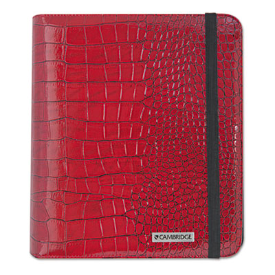 Basic iPad Case, Simulated Leather, 9-1/8 x 1-1/8 x 10-1/2, Red