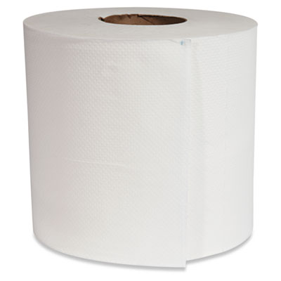Center-Pull Hand Towels, 8 x 10, White, 660/Roll, 6 Rolls/Carton