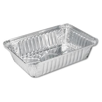 Aluminum Oblong Pan, 36oz, 8 1/2 x 5 15/16 x 1 13/16, 500/Carton