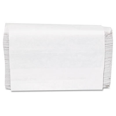 Folded Paper Towels, Multifold, 9 x 9 1/2, White, 250 Towels/Pac