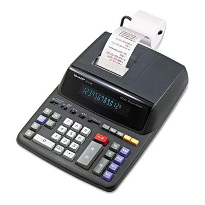 EL2196BL Two-Color Printing Calculator, Black/Red Print, 3.7 Lines/Sec<br />91-SHR-EL2196BL
