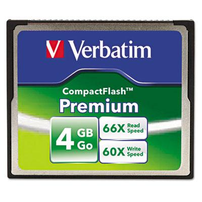 Premium CompactFlash Memory Card, 4GB