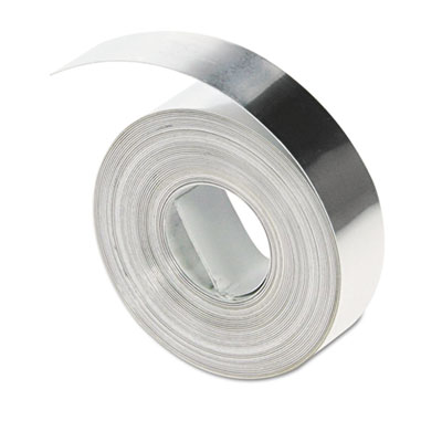 Rhino Metal Label Non-Adhesive Tape, 1/2