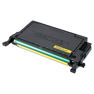 CLT-Y609S (SU561A) High-Yield Toner, 7000 Page Yield, Yellow<br />91-SAS-SU563A