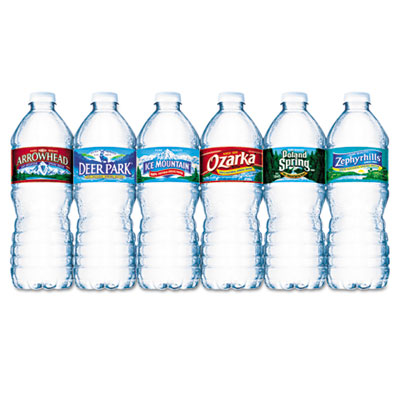 Bottled Spring Water, .5L, Bottles, 1728/Pallet